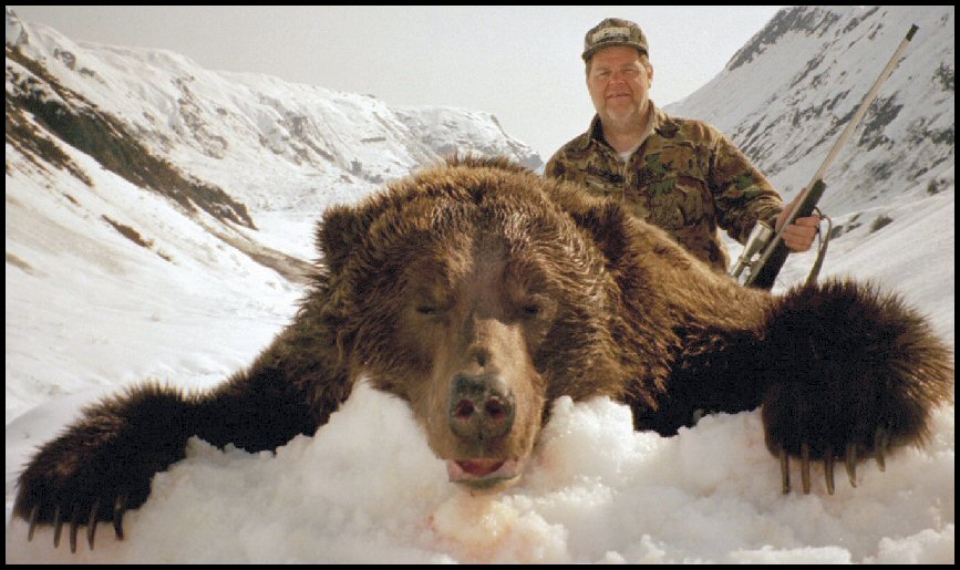 "Steve Boniface's 9'10"" Alaska Brown Bear"