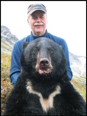 Virgil Hannig's Alaska black bear