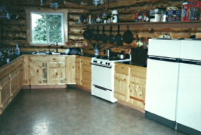 Dave Haeg's Main Lodge Kitchen